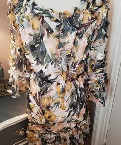 Milly Dresses - Milly Krista Layered Dress Size S NWT